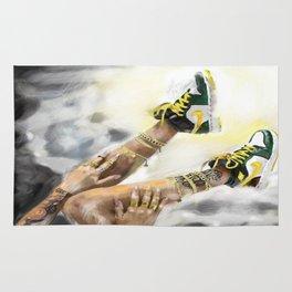 Nike in the sky Rug