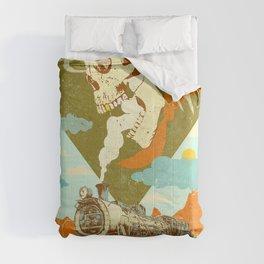 GHOST TRAIN HAZE Comforters