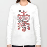 carnage Long Sleeve T-shirts featuring Ethno DJ by Sitchko Igor