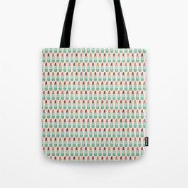 Doodle Lipstick Pattern Tote Bag