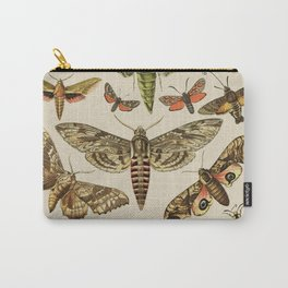 Vintage Scientific Moth Chart Carry-All Pouch