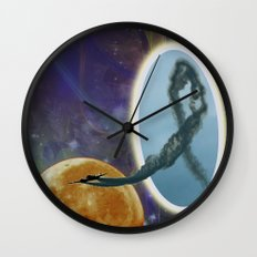 Into Another Dimension Wall Clock