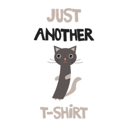 Art Print - Just another cat t-shirt - Angela Minca