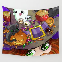 Candy Witch Wall Tapestry