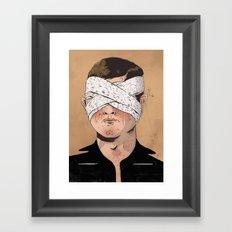 X-Ray Eyes Framed Art Print