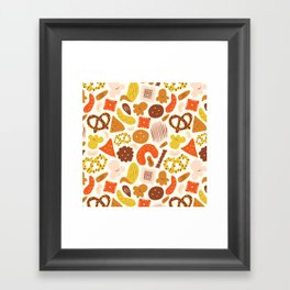 Snacks Framed Art Print