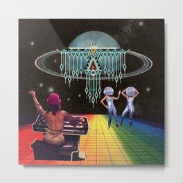 mystic disco Metal Print