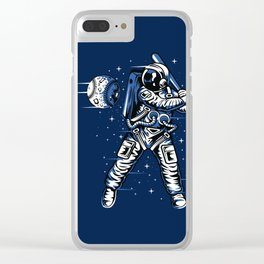 Spaceball Clear iPhone Case