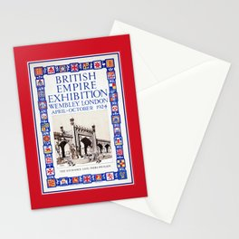 1924 British Empire Exhibition Wembley London Stationery Cards