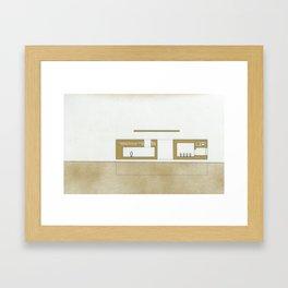 Detroit series 9 Framed Art Print