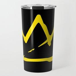 Basquiat crown Travel Mug