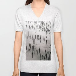 Flooded Crop Unisex V-Neck