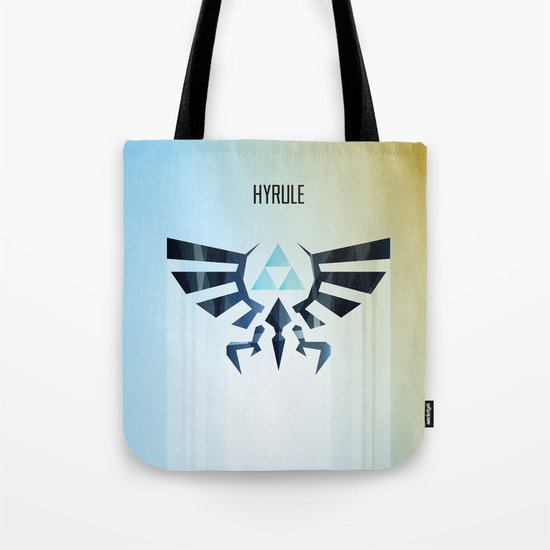 The Legend of Zelda - Hyrule Rising Poster Tote Bag