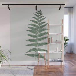Fern Frond Illustration Wall Mural