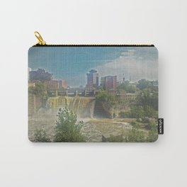 High Falls  on the Genesee River Carry-All Pouch