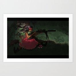 Gun Kid Art Print