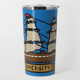 Anchor Pixel Travel Mug
