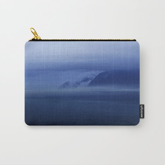Smooth surf blues Carry-All Pouch
