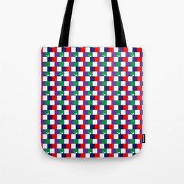 70's Squares Tote Bag