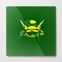 leonardo ninja turtle Metal Print