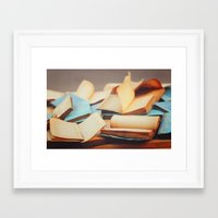 books Framed Art Prints featuring Books by Nina's clicks