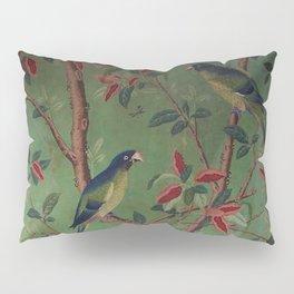 Green Dream Chinoiserie Pillow Sham