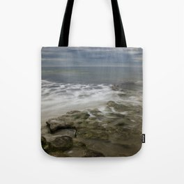 Reef, Sky and Sea Foam at Swami's, Encinitas, California Tote Bag