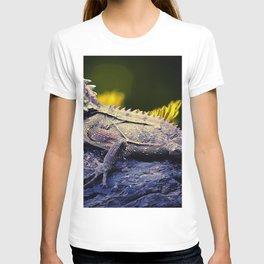 painting dragon lizart T-shirt