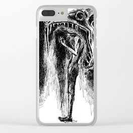 Swallowed Clear iPhone Case