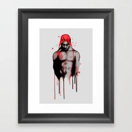 Makaveli Framed Art Print