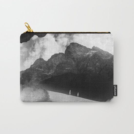 State of black and white isolation Carry-All Pouch