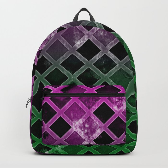 Abstract Geometric Background #7 Backpack