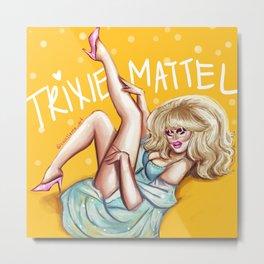 Trixie Mattel Metal Print