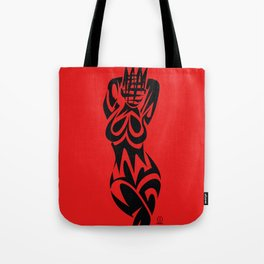 ABSTRACT QUEEN Tote Bag