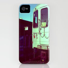 Subway A train in Queens - NYC iPhone Case