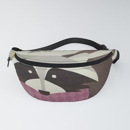 Hello Raccoon Fanny Pack