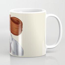 2014-08 Girl with her cat Coffee Mug