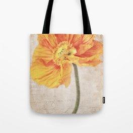 Bella orange Tote Bag