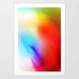 Aura Art Print