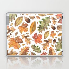 Watercolour Autumn Leaves. Laptop & iPad Skin