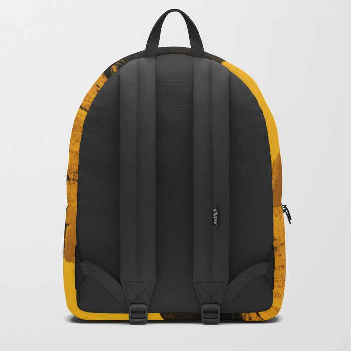 Hello threes of yellow isolation Backpack