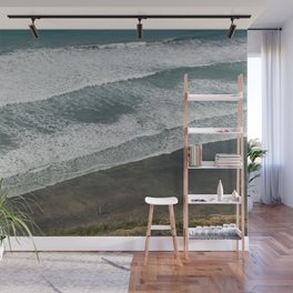 Waves on the Beach Wall Mural