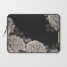 Flowers on a winter night Laptop Sleeve