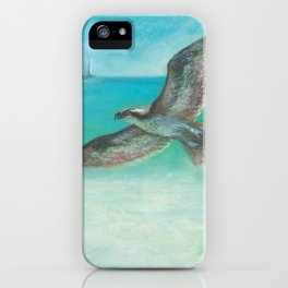 Belle's Journey: Island Hopping iPhone Case