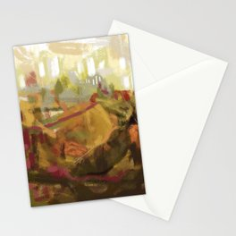 Abstract landscape 7 Stationery Cards
