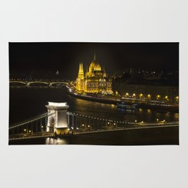 Budapest At Night Rug