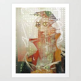 A Portrait of a Naval Explorer Art Print