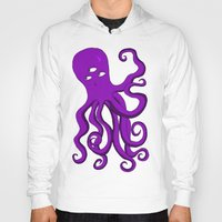 occult Hoodies featuring Occult Octopus by mystmoon