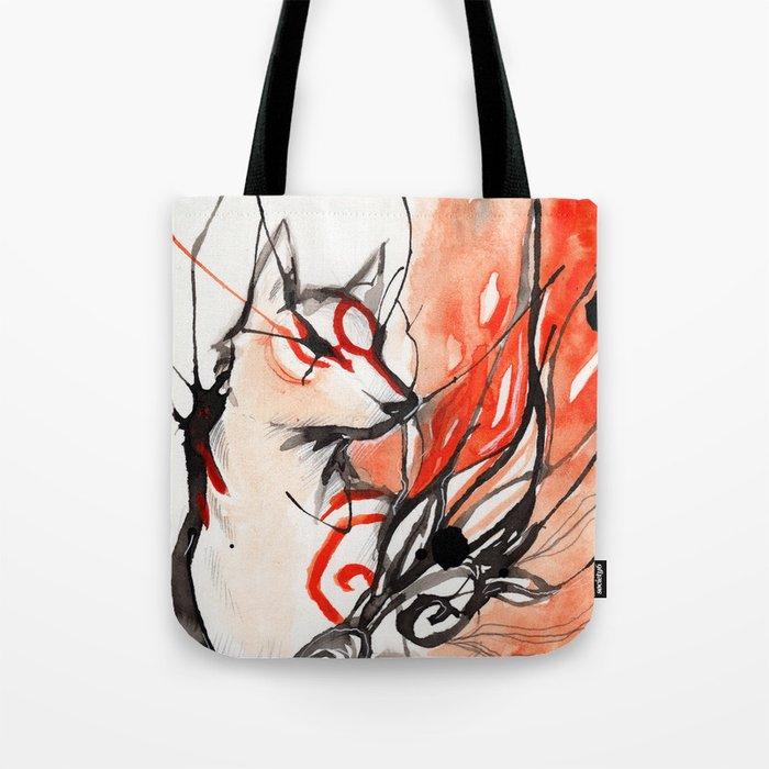 Okami Tote Bag