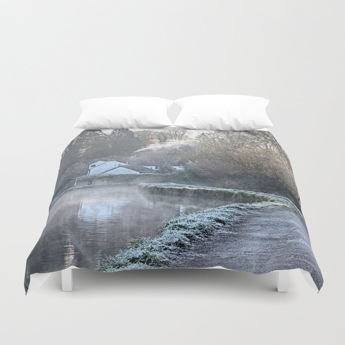 Causeway To The Chequers Duvet Cover